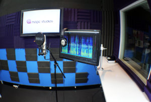 Recording room 1 close