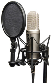 Voice Over Recording Studio Rode Microphone